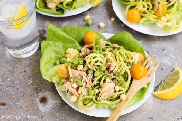 Lemon-Pepper-Salmon-and-Zucchini-Noodle-Salad-Cups AFarmgirlsDabbles AFD-4-1-600x400