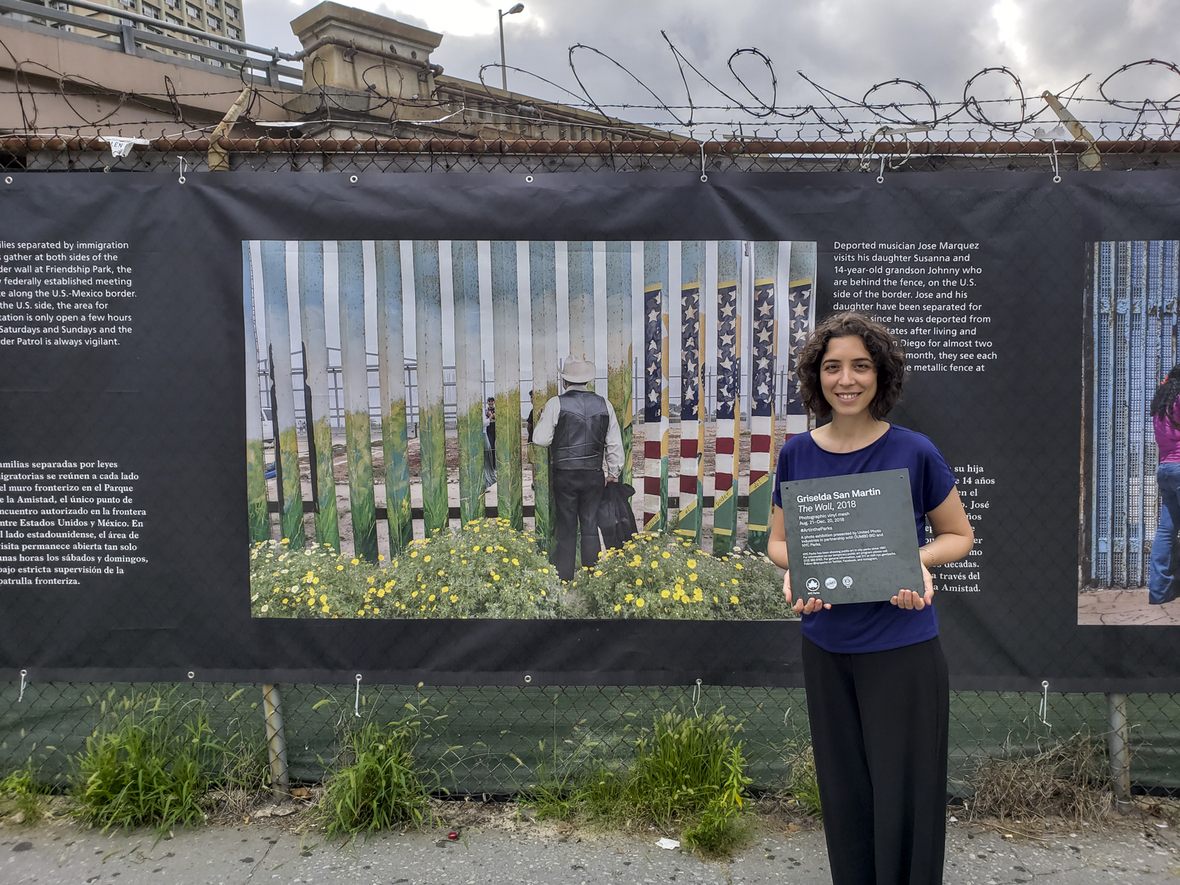 New Public Photo FENCE | Griselda San Martin's THE WALL in DUMBO