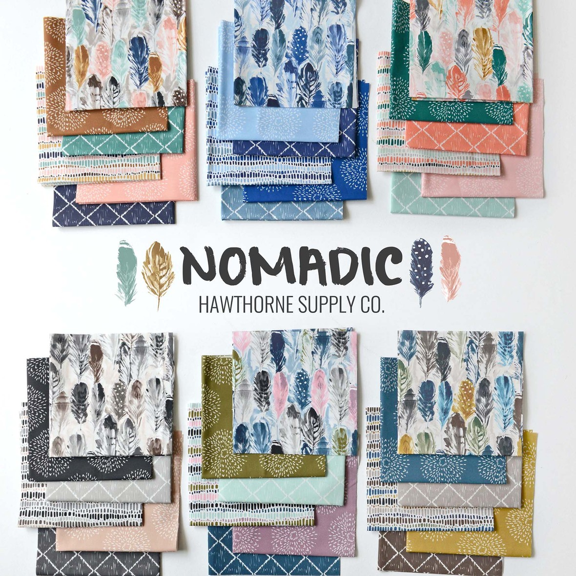 Nomadic Fabric Poster Hawthorne Supply Co