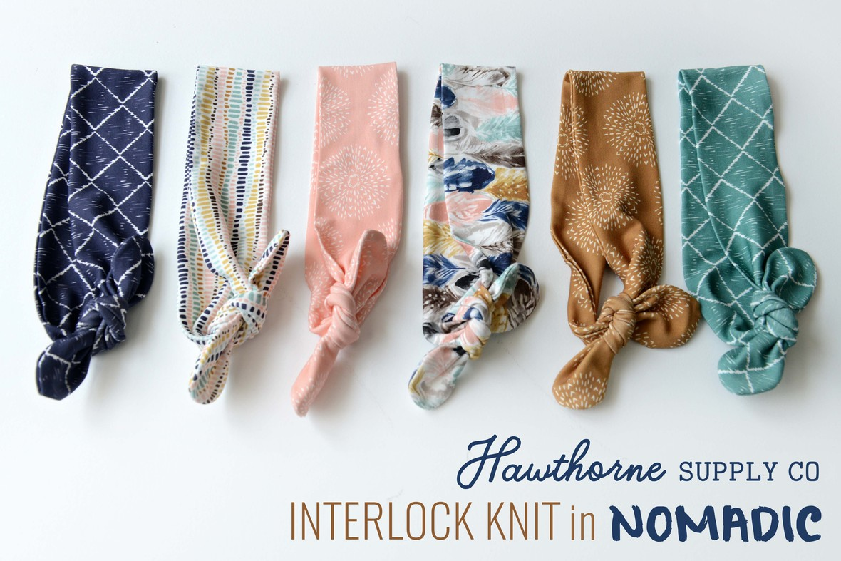 Nomadic Interlock Knit Headbands