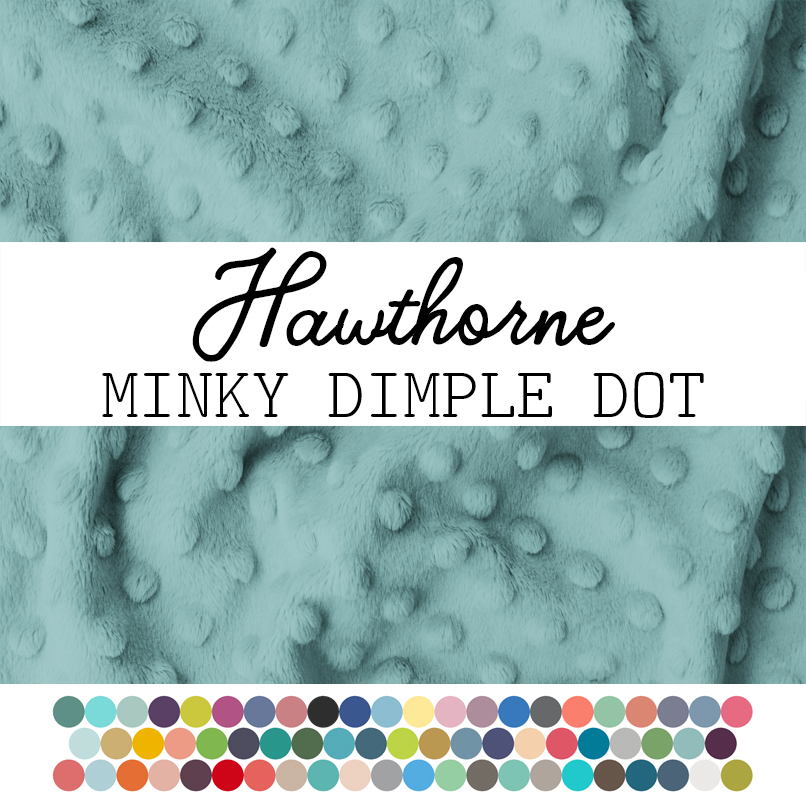 Minky Promo With Dots