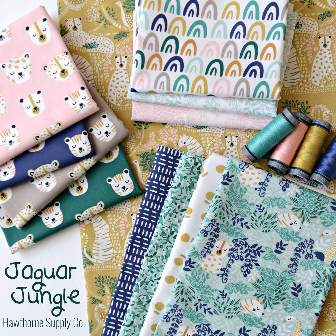 Jaguar Jungle Fabric Hawthorne Supply Co
