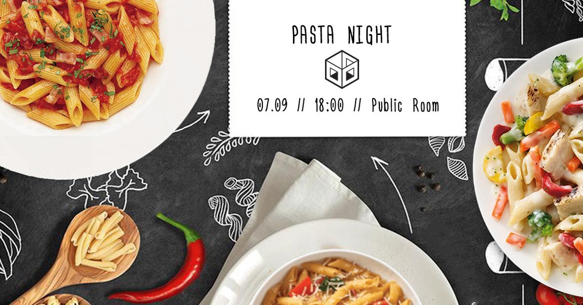 pasta night 4
