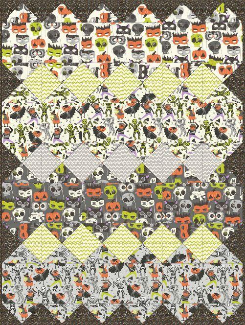 blend- free quilt pattern