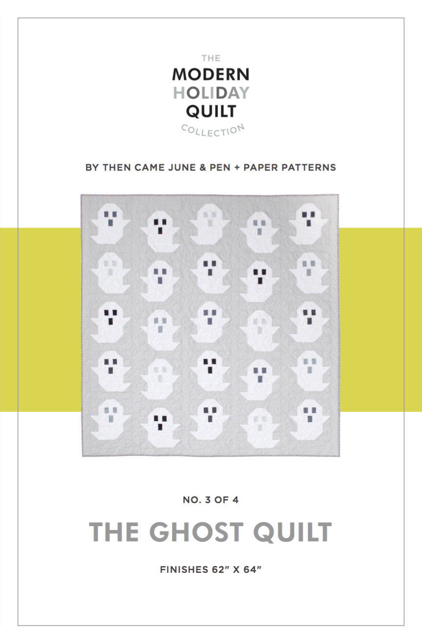 then came june the ghost quilt sewing pattern