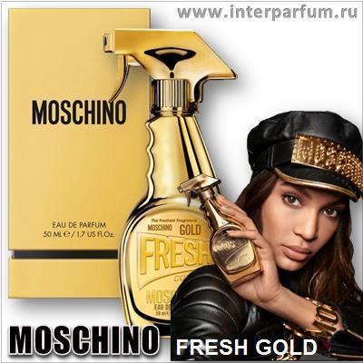 moschino fresh gold 1