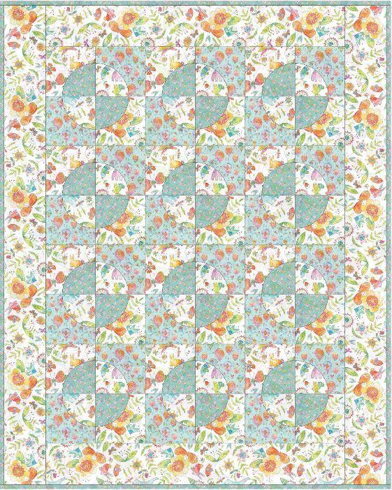 blend- free quilt