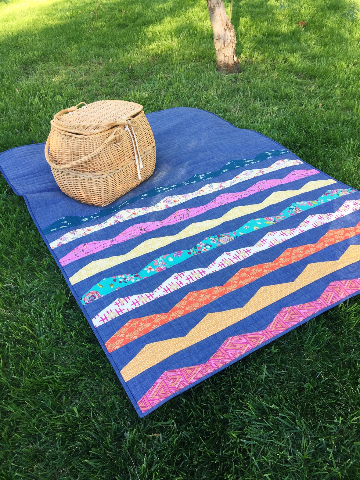 modern handcraft - range quilt