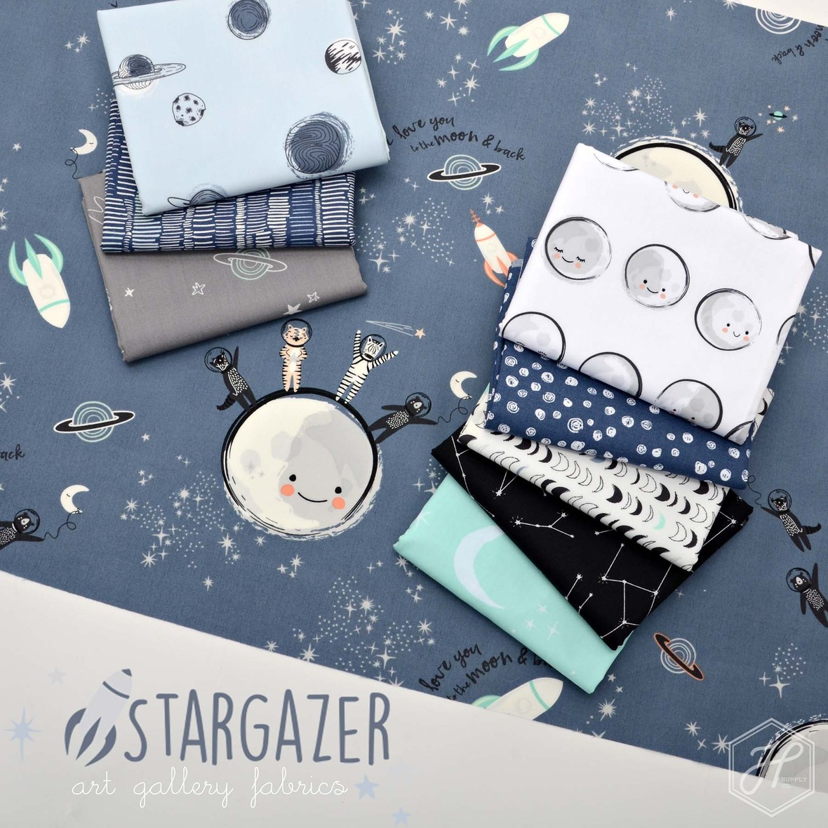 Stargazer Capsules Art Gallery at Hawthorne Supply rescaled