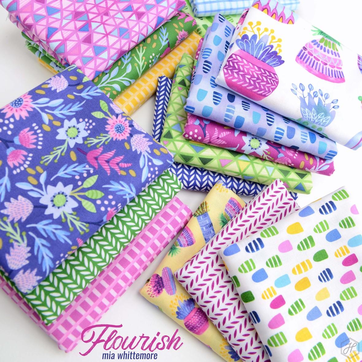 Flourish Fabric Poster Hawthorne Supply Co