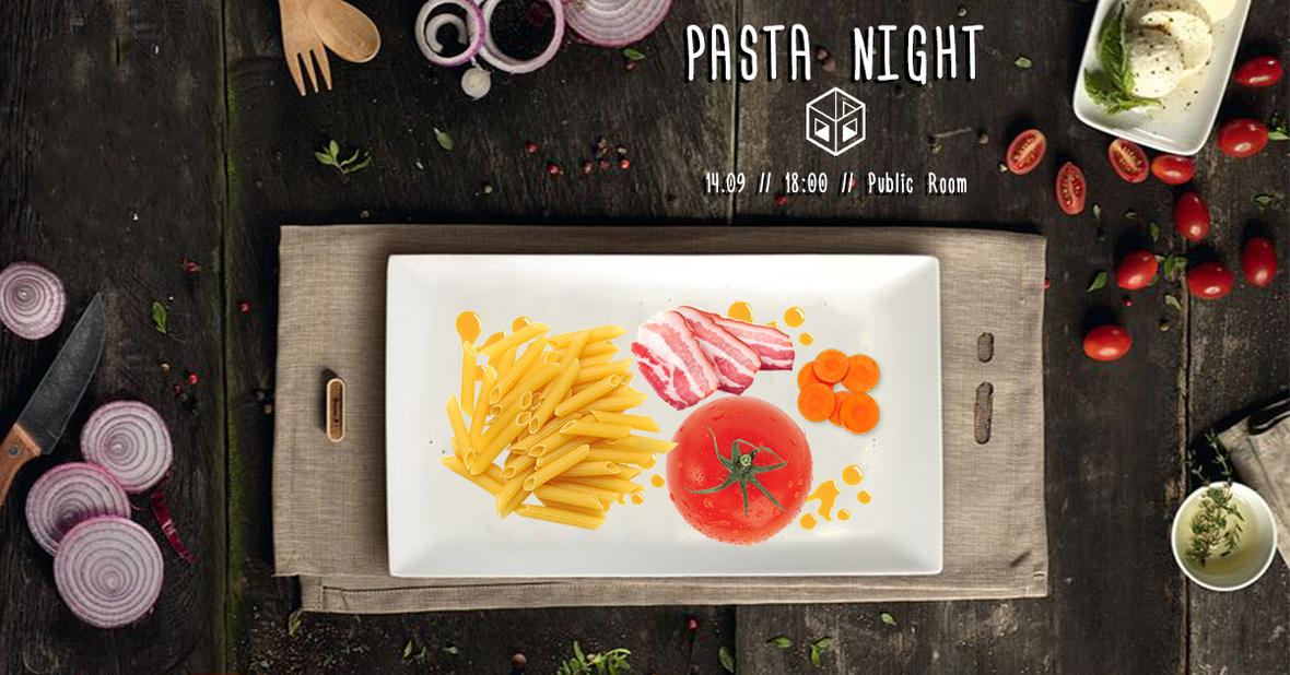 pasta night 5