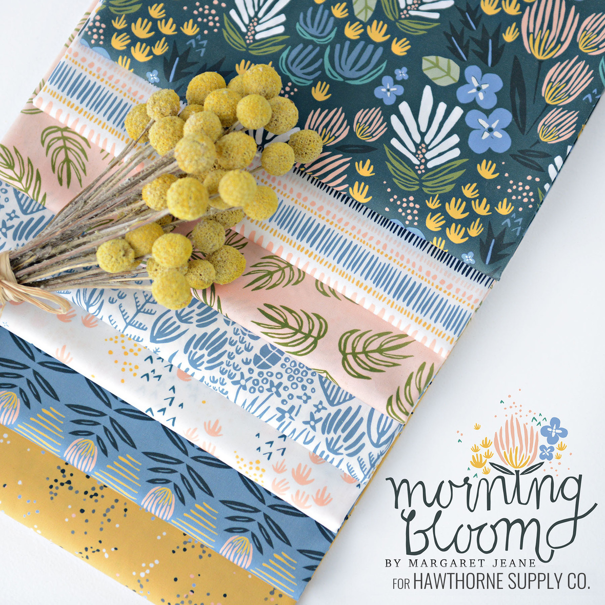 Morning bloom Poster NEW LOGO