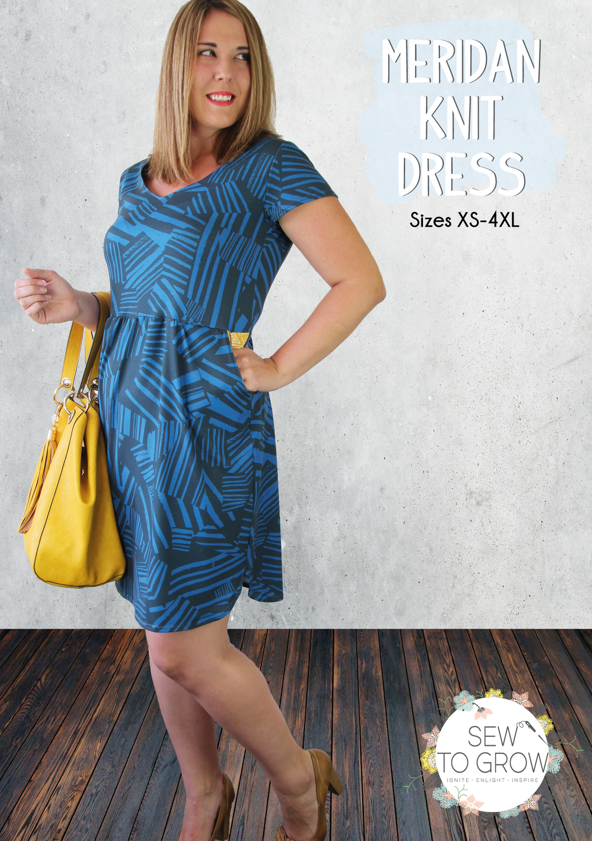 Copy of Meridan Knit Dress Front Cover