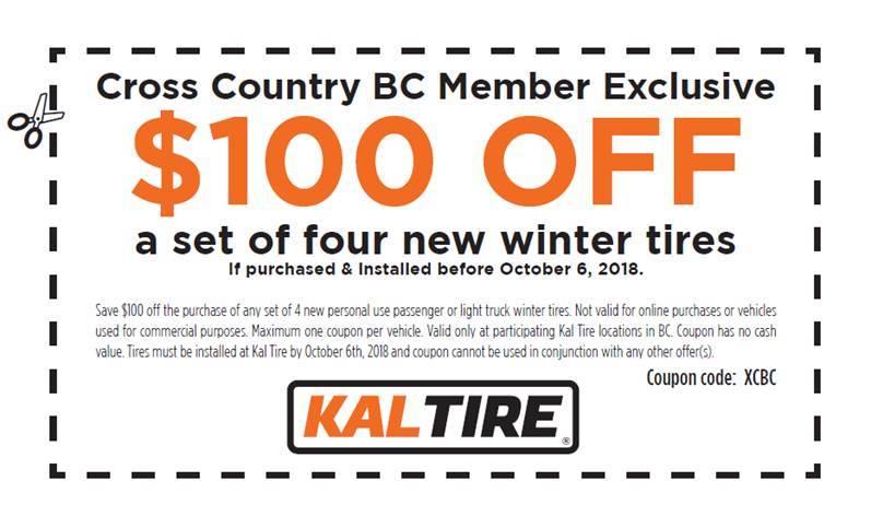 Kal tire coupon