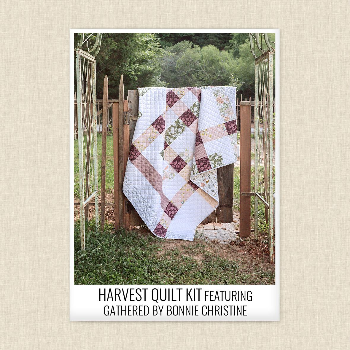 Harvest Quilt Kit finished 2