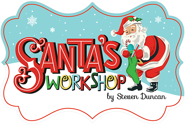 Greetings from the north pole santas workshop logo m4hsunfo