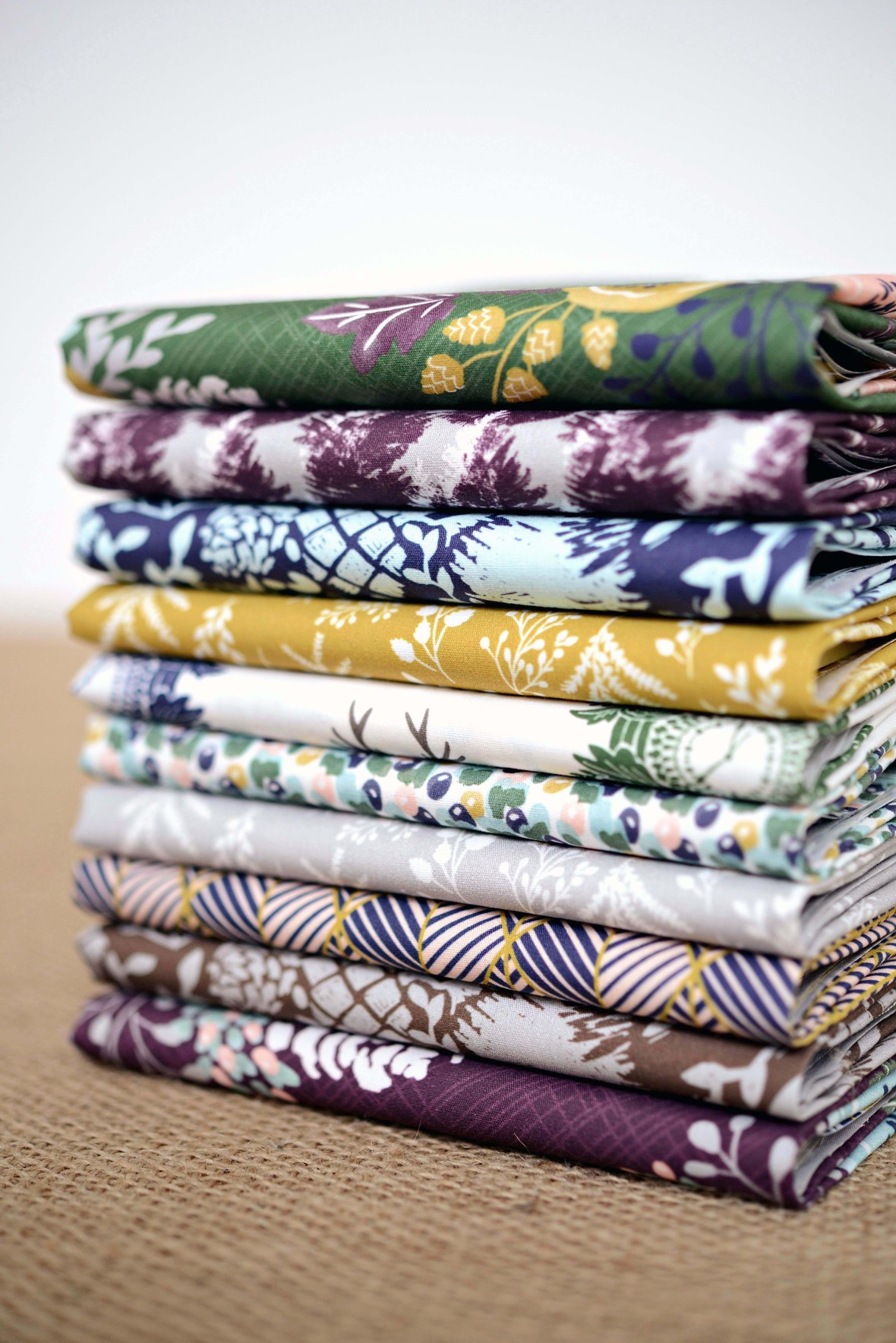 Black Forest Fabric Stack