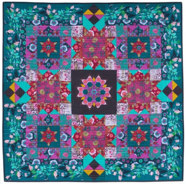 english summer quilt - promotional material