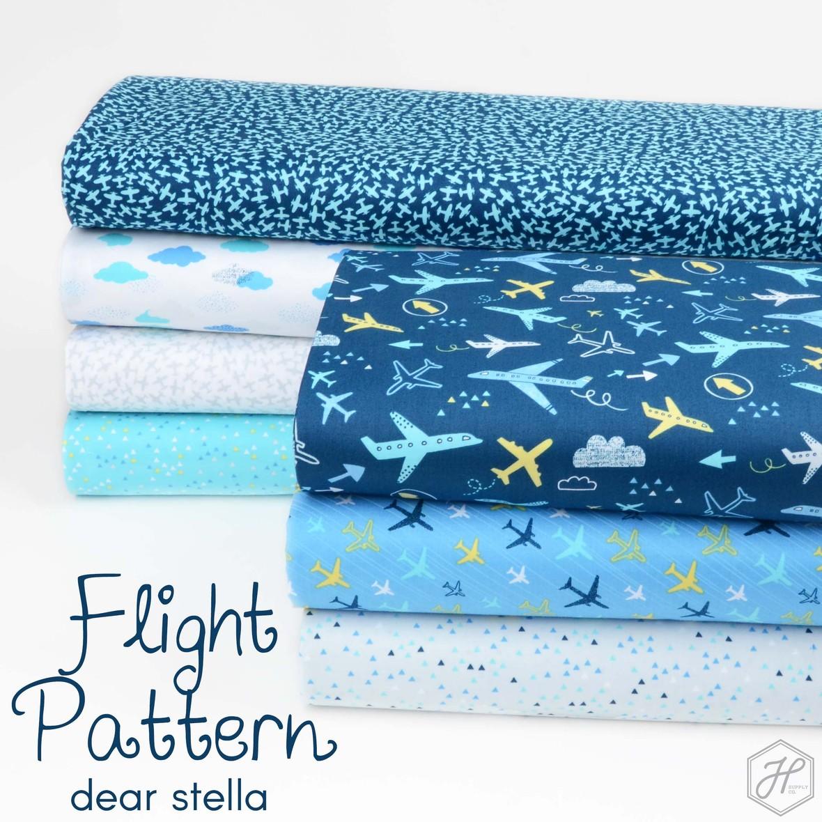 Flight Pattern Fabric Dear Stella at Hawthorne Supply Co