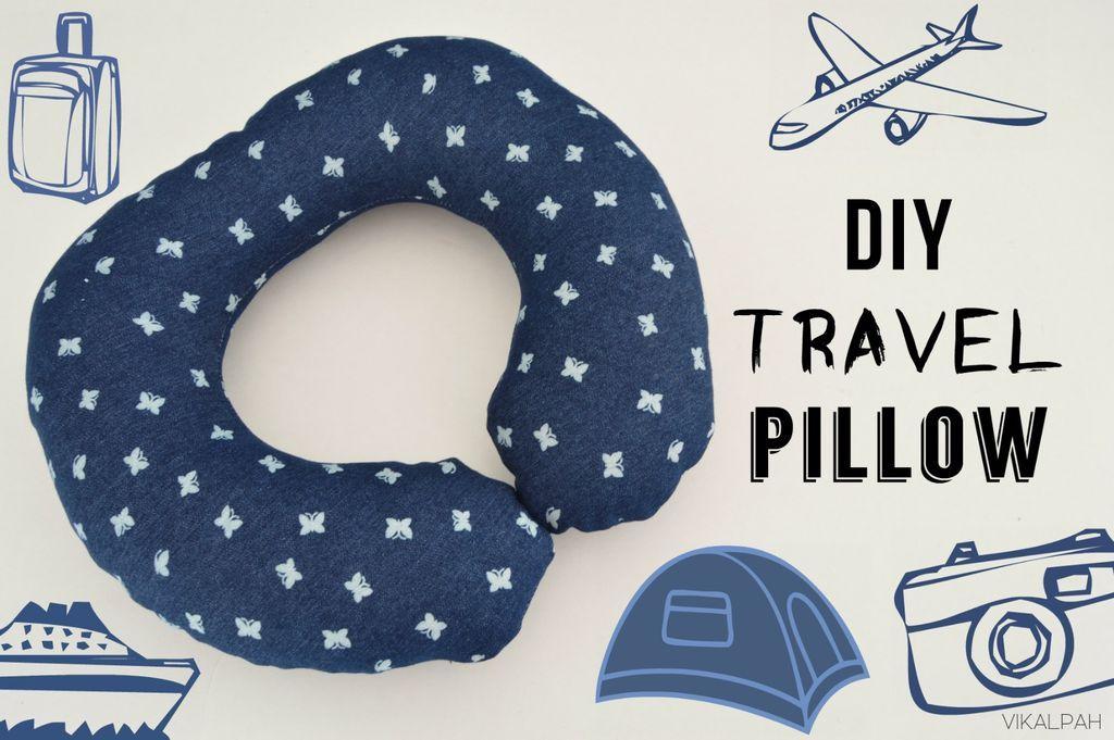 Instructables.com- by Vikalpah- free DIY travel pillow tutorial