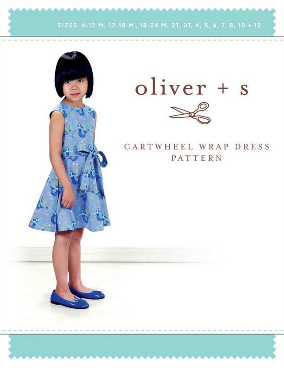 Oliver and S- Cartwheel Wrap dress