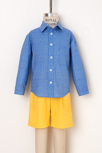 Oliver and s- sketch book shirt and shorts