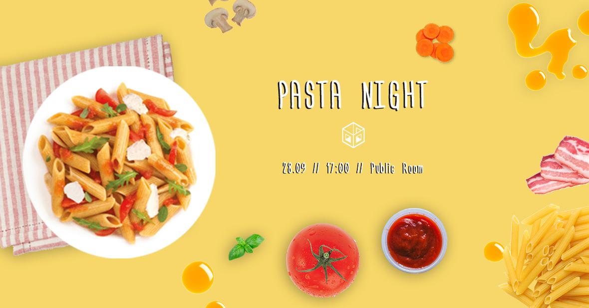 pasta night 7