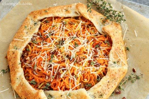 parmesan-black-pepper-galette-with-sweet-potato-and-apple AFarmgirlsDabbles AFD-4-600x400