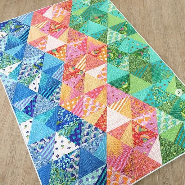 tula pink-instagram- quilt by jaybird