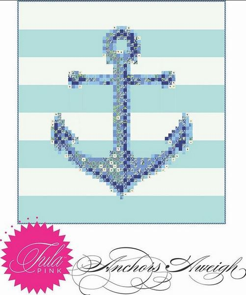 Tula Pink -instagram- anchors aweigh- free pattern - tula pinks website