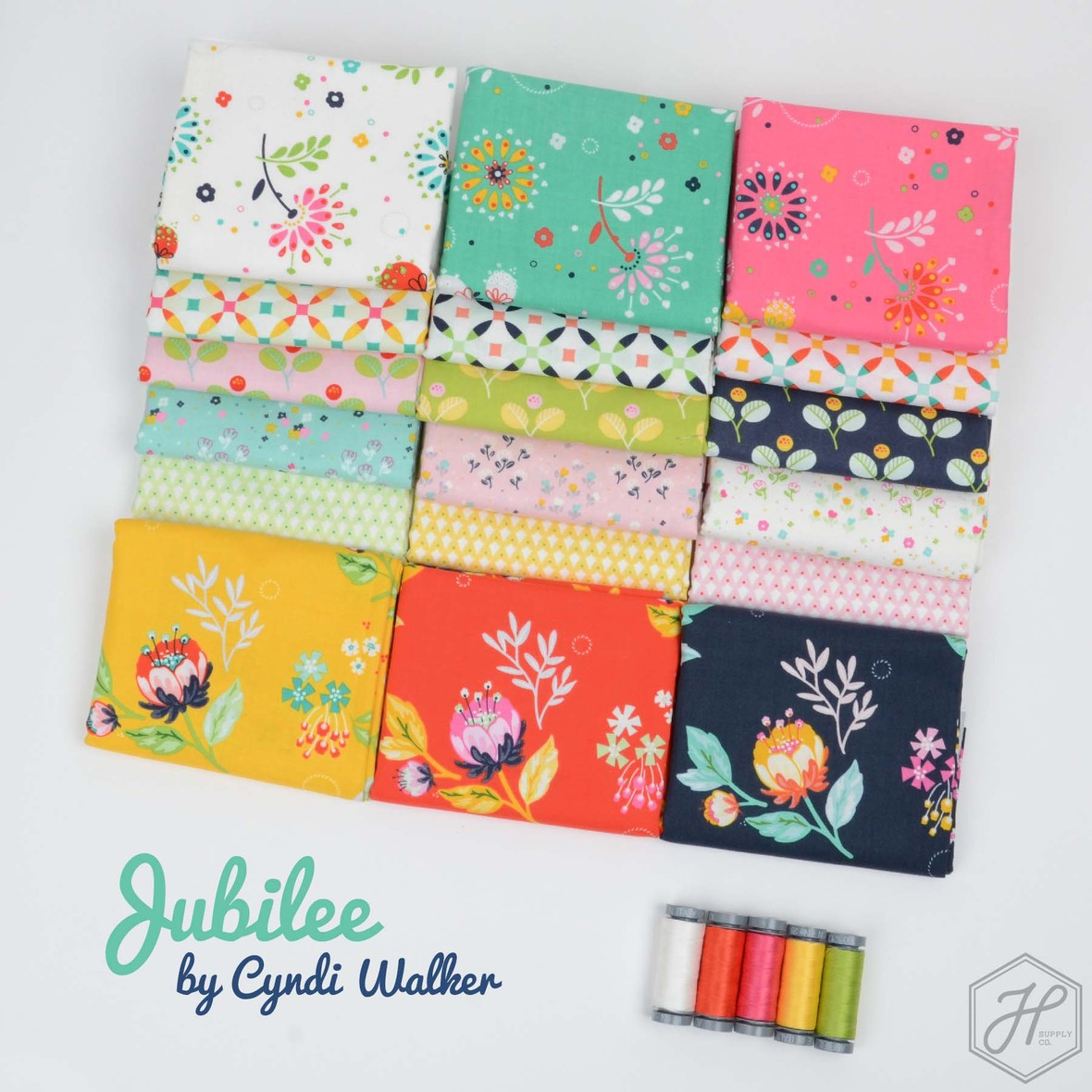 Jubilee Fabric Poster