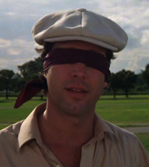 caddyshack chevy chase blindfolded