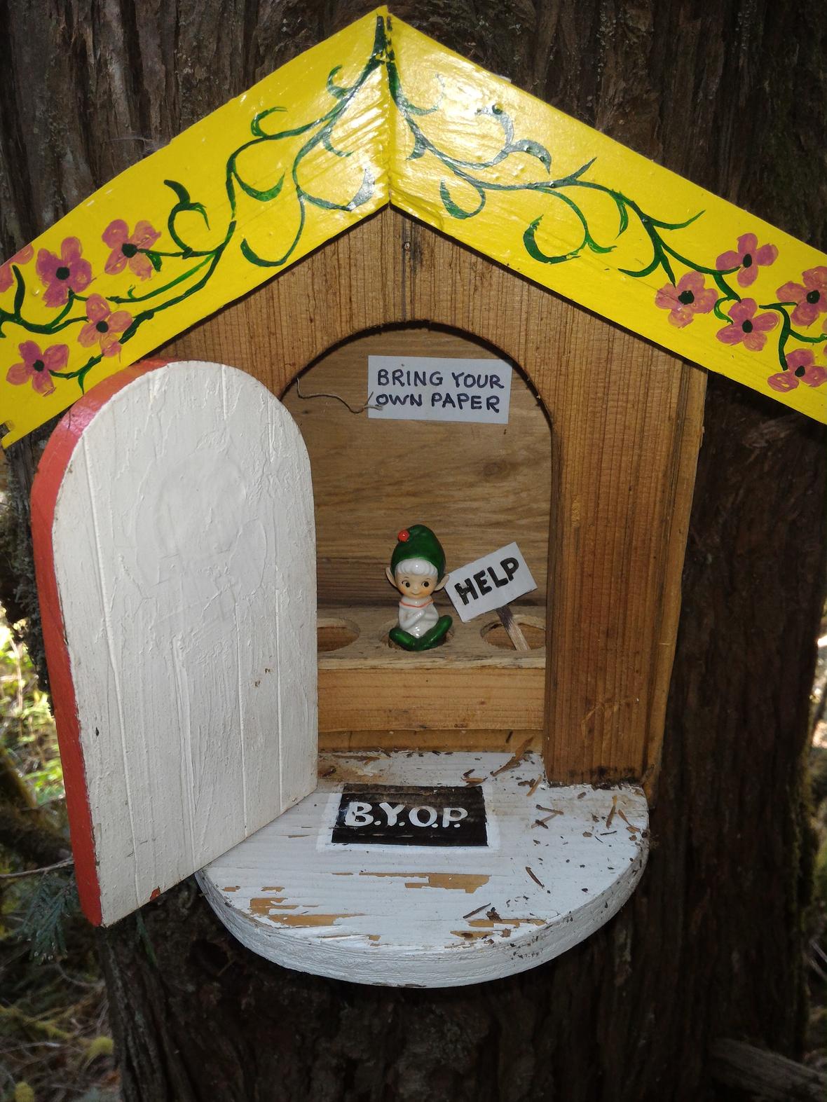 leprechaun outhouse