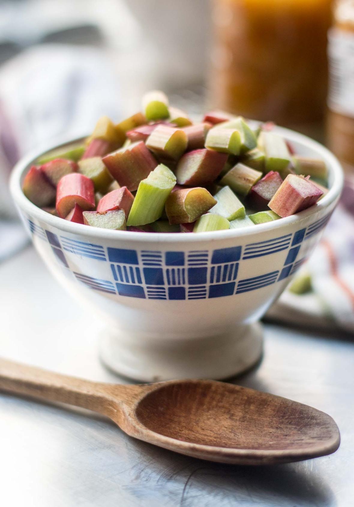 plum rhubarb crisp cobbler crumble recipe