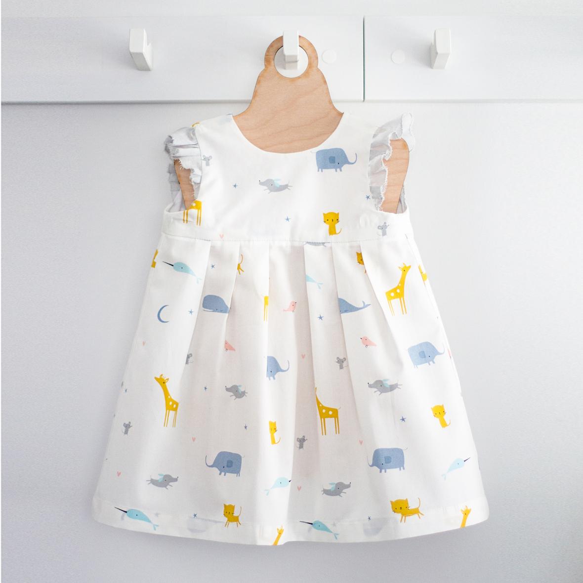 Cloud 9 - geranium dress - made by rae