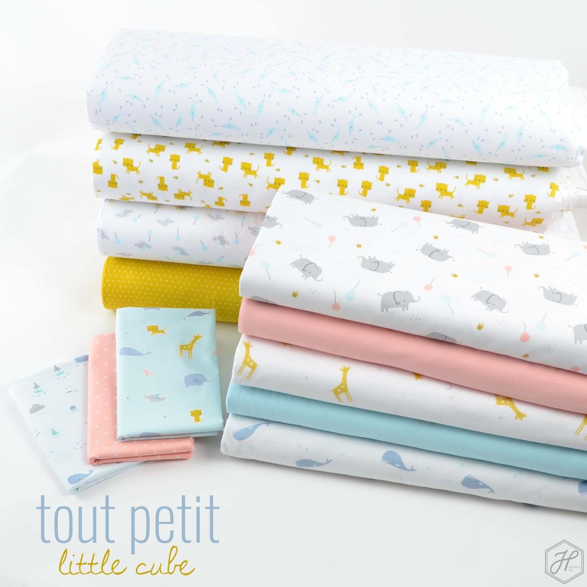 Tout Petit Fabric Poster