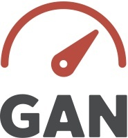 GAN logo square red cmyk