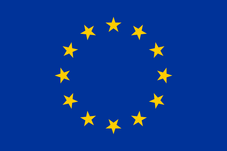 European flag 2C incorrect star rotation