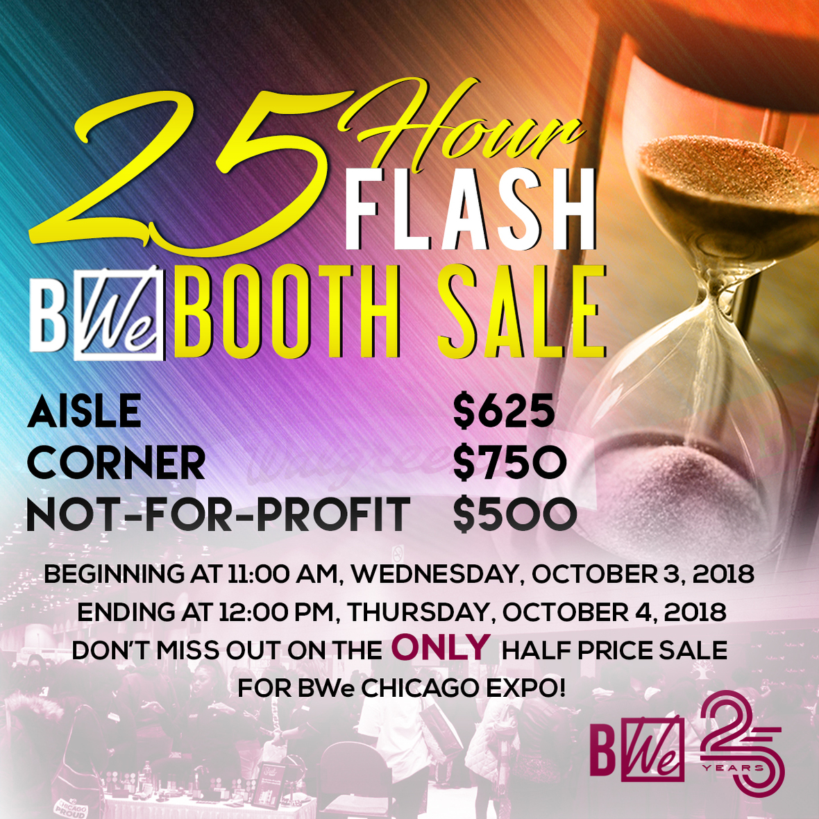 6e277579079b2 The Black Women s Expo Chicago 25 Hour Flash Booth Sale!