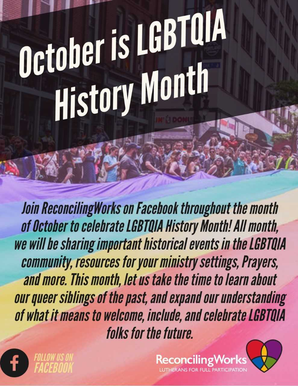 LGBTQIA History Month Flyer