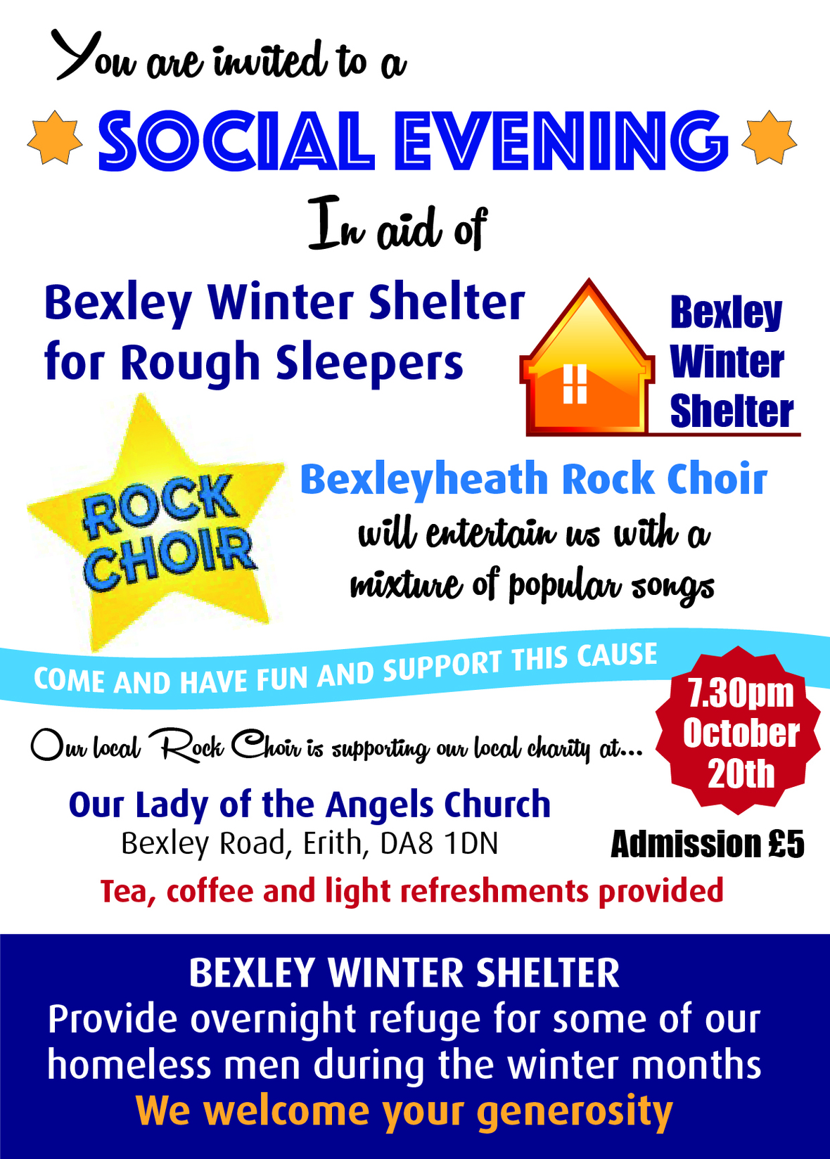 Bexley Winter Shelter A4