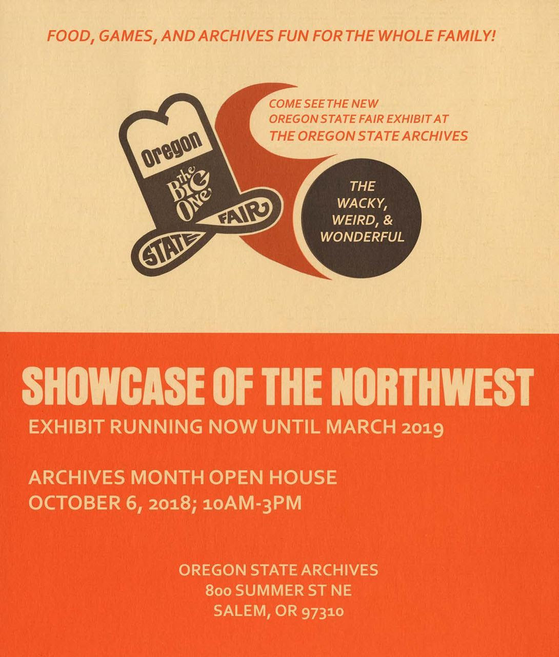 State Archives Open House 2018