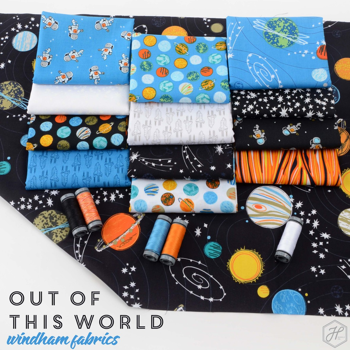Out of This World Fabric Poster