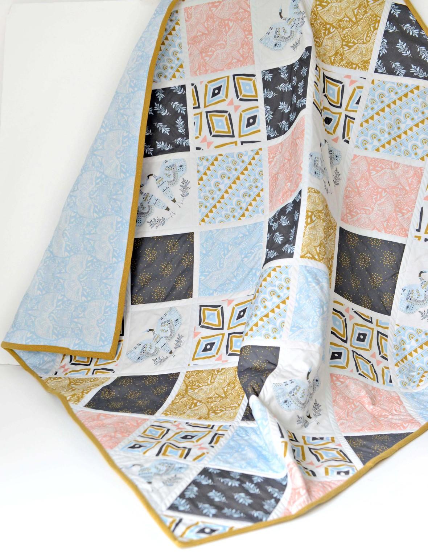Anhinga Fabric Quilt Hawthorne Supply Co