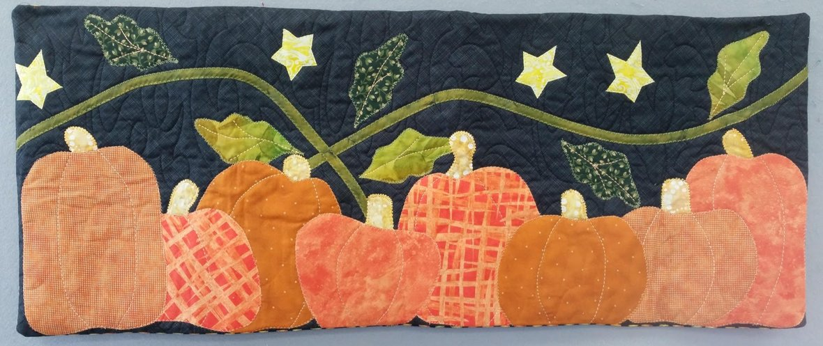 the pumpkin patch pillow