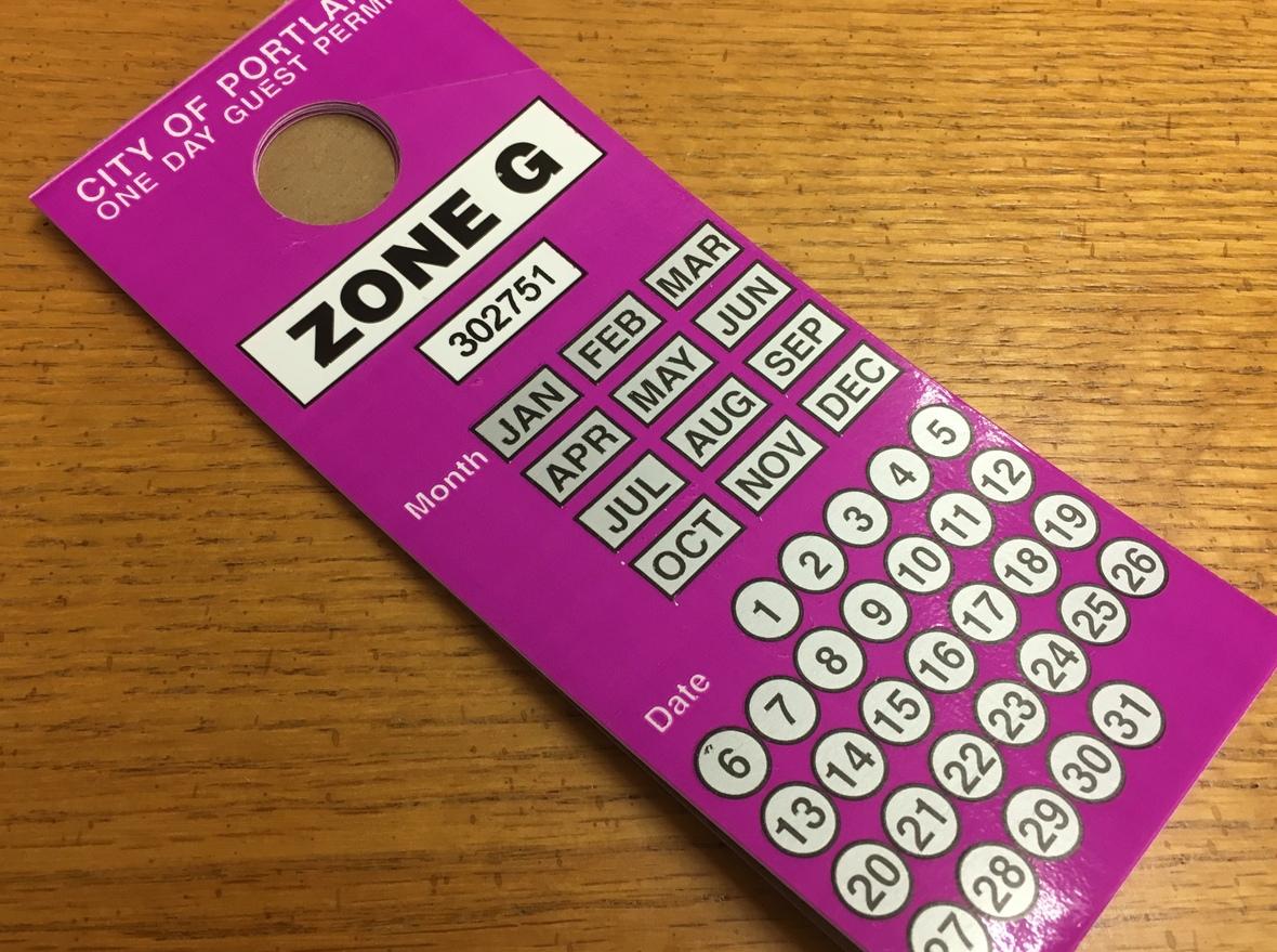 Zone G Parking