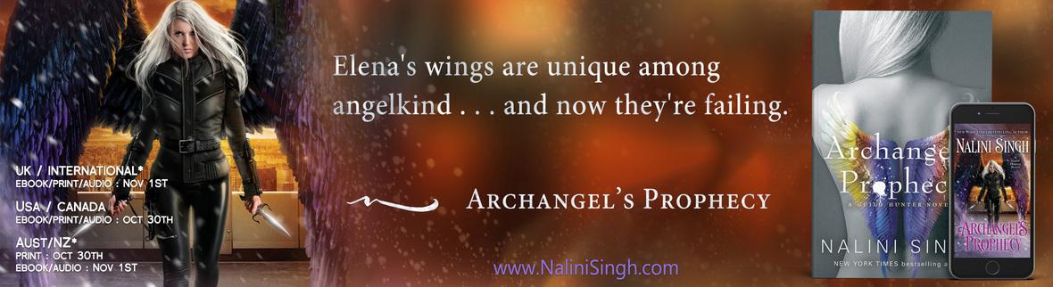 NEWSLETTER HEADER Archangels Prophesy