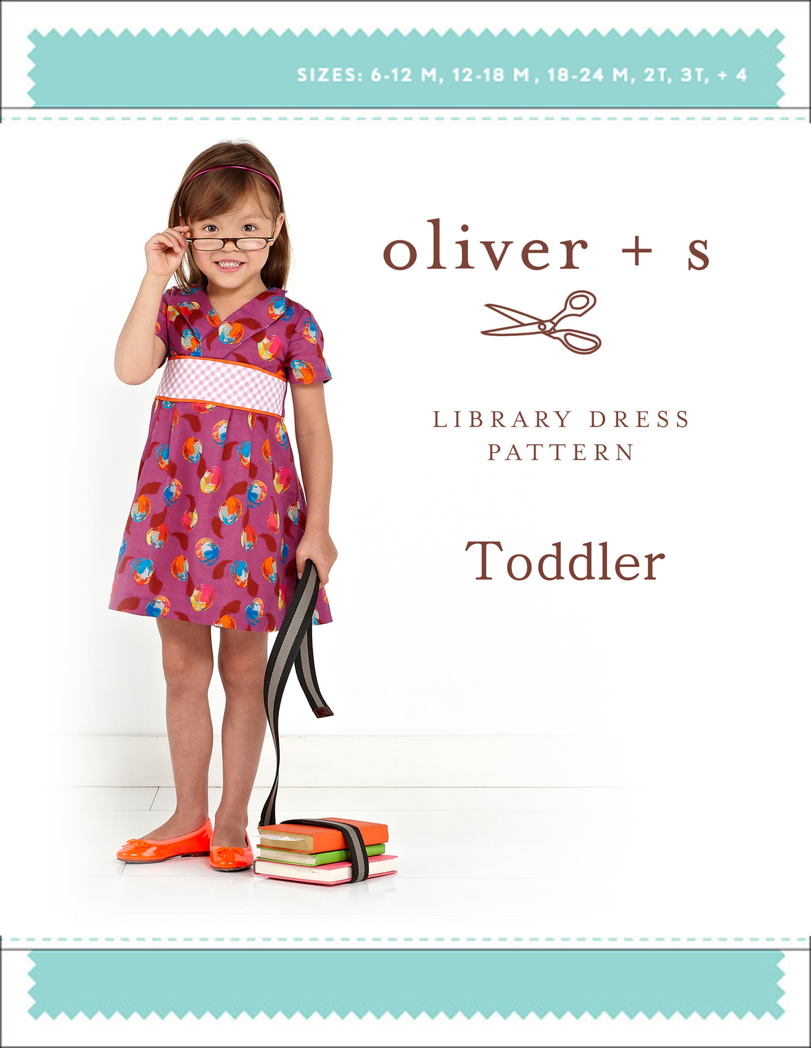 oliver and s  toddler library dress sewing pattern