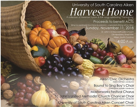 Harvest Home - November 2018 - poster gb