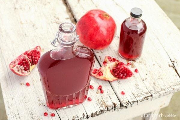 Pomegranate-Shrub AFarmgirlsDabbles AFD-600x400